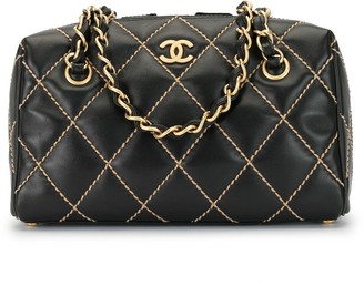 Chanel Pre Owned 2003 Wild Stitch chain tote