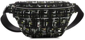 Fendi FF Camouflage Belt Bag