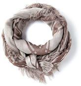 Gucci geometric pattern scarf