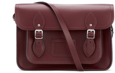 The Cambridge Satchel Company Women's 13 Inch Magnetic Satchel Oxblood