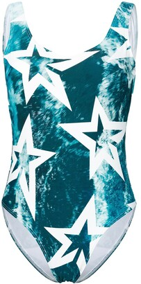Perfect Moment Wild Ocean star print one piece