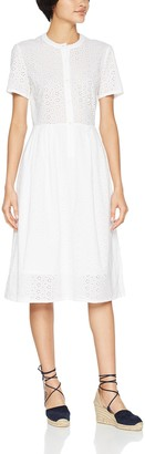 People Tree Peopletree Women's Nidia Broderie Shirt Dress