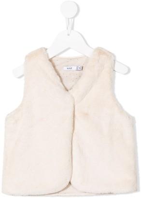 Knot Miranda faux fur vest