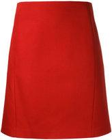Jil Sander Navy a-line skirt - women - Cotton - 38
