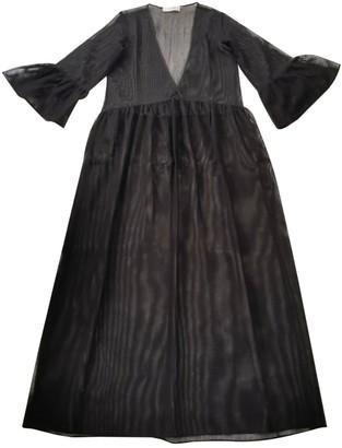 Jucca Black Polyester Dresses