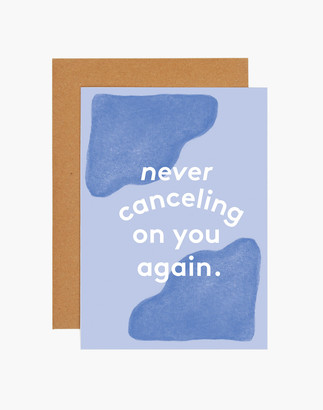 Madewell grl & co. Never Canceling Greeting Card