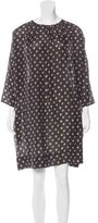 Band Of Outsiders Abstract Print Shift Dress