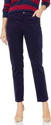 Chaus Women's Straight Leg Cord Pant