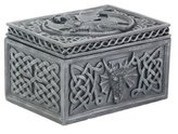 Summit StealStreet Dragon Celtic Jewelry Box Collectible Tribal Container Sculpture
