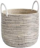 Pottery Barn Teen Woven Seagrass Medium Basket, Natural