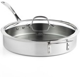 Calphalon Tri-Ply Stainless Steel 5 Qt. Covered Saute Pan