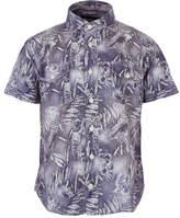 Hackett Washed Hawaiian Chambray Shirt