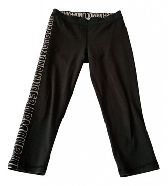 Under Armour Black Cotton Trousers