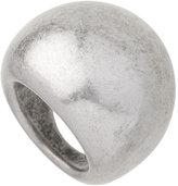 Silver Chunky Metal Ring