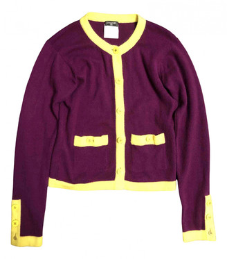 Chanel Purple Cashmere Knitwear