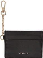 Versace Black Chain Hook Card Holder
