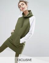 Monki Color Block Sweat Dress