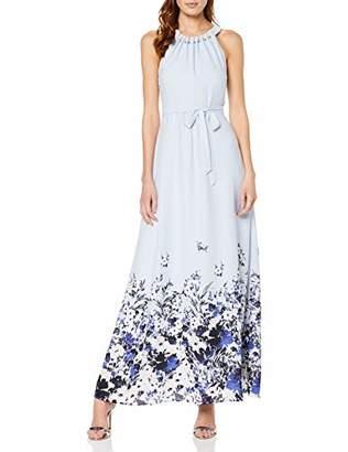 S'Oliver BLACK LABEL Women's 70.903.81.2477 Party Dress, (Light Blue 50D3), 16 (Herstellergröße: )