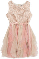 Rare Editions Lace Bodice Dress, Toddler & Little Girls (2T-6X)