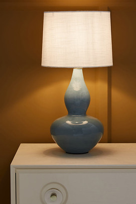 Anthropologie Aveline Table Lamp By in Blue Size M