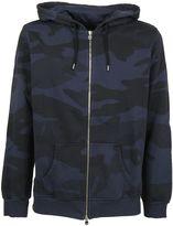 Hydrogen Man Fitness Sweatshirt Blue Camouflage