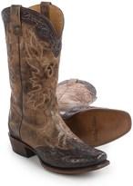 """Stetson Delamar Cowboy Boots - Square Toe, 13"""" (For Men)"""