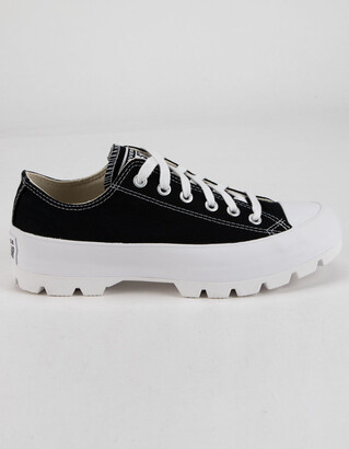 Converse Lugged Canvas Chuck Taylor All Star Womens Low Top Shoes