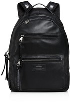 John Varvatos Perforated Leather Backpack