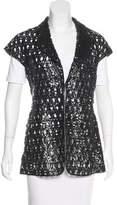 Salvatore Ferragamo Patent Leather Vest