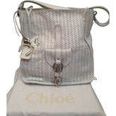 Chloé White Leather Handbag