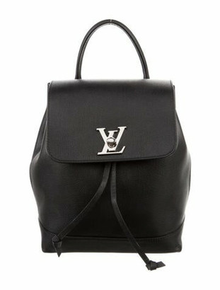 Louis Vuitton Lockme Backpack Black