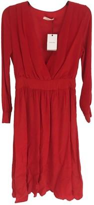 Anine Bing Red Silk Dresses