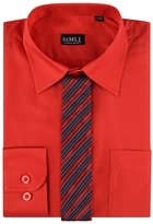 SAMLI Aelstores. Boys Plain Long Sleeved Shirt Kids Ages Formal Smart Age Size 1-15