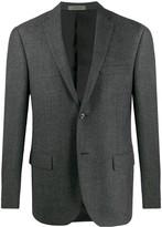 Corneliani colour block blazer