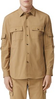 Burberry Crawford Roll Sleeve Button-Up Shirt