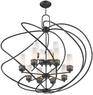 Livex Lighting Livex Westfield 8-Light + 4-Light Ob Foyer Chandelier