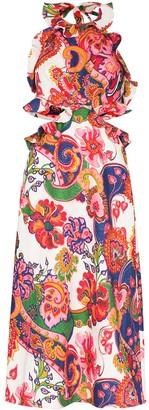 Zimmermann Lovestruck paisley-print midi dress