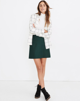 Madewell Assembly A-Line Mini Skirt