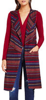 BCBGeneration Jacquard Shawl Collar Vest