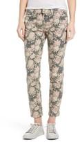 Current/Elliott Women's Stiletto Floral Print Skinny Jeans