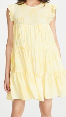 ENGLISH FACTORY Tie Dye Babydoll Dress