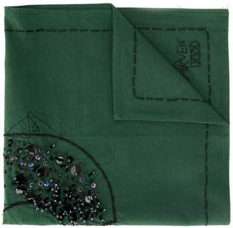 Carven Sequin Detail Scarf