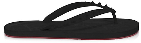 Thumbnail for your product : Christian Louboutin Loubi Spikes Flip Flops
