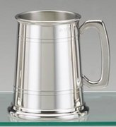 Knights of London Traditional Pewter Beer Tankard - 1 Pint