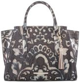Brahmin Priscilla Bronze Medium Satchel