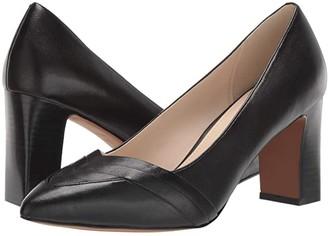 Cole Haan Eliisa Pump 75 mm (Black Leather) Women's Shoes