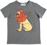 Mini Rodini Lion Print Organic Cotton Jersey T-Shirt