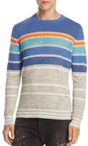 Diesel K-Colonial Striped Linen Blend Sweater