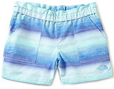 The North Face Little/Big Girls 5-18 Hike/Water Ombre Striped Shorts