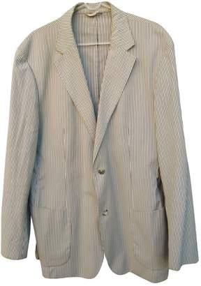 HUGO BOSS Blue Cotton Jackets